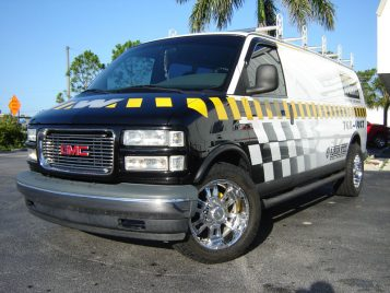 GMC Van ladder rack 2