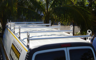 GMC Van ladder rack 3