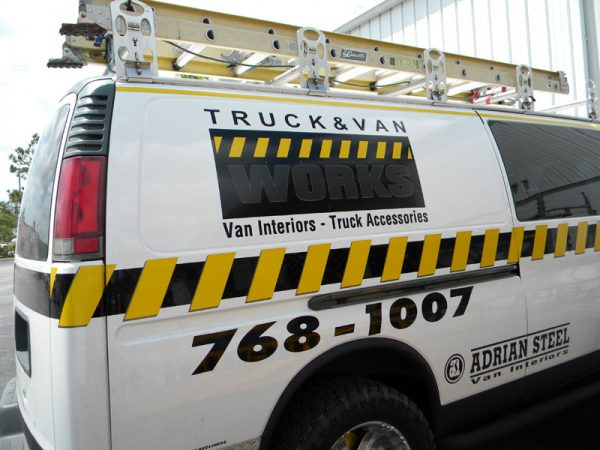 GMC Van ladder rack 4