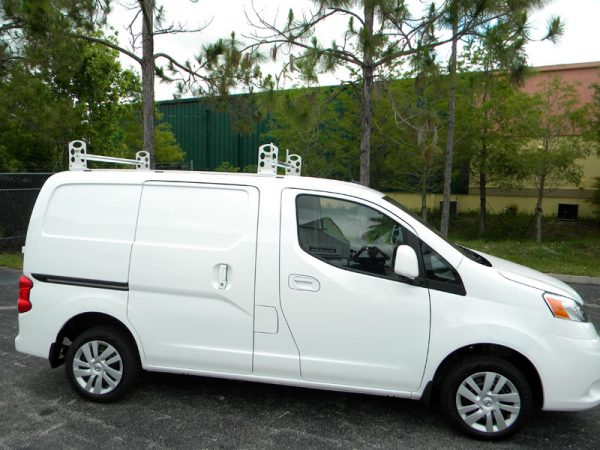 New Nissan NV-200 with Tuff Racks Ladder Racks