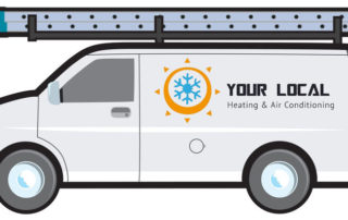 Why Add a Ladder Rack to Your Air Conditioning Repair Truck