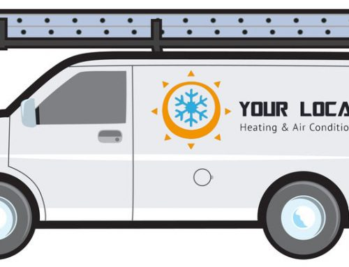 Why Add a Ladder Rack to Your AC Repair Van?