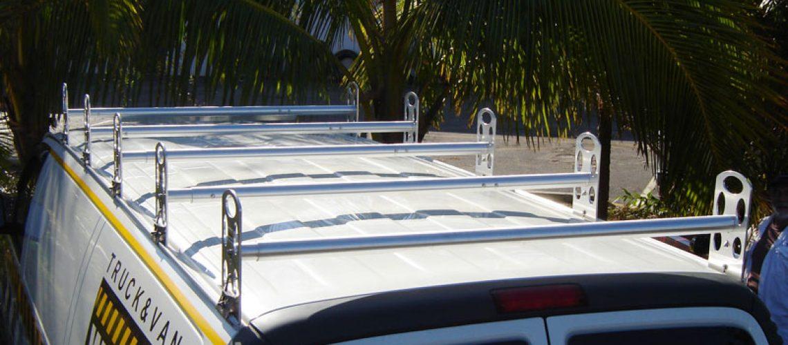 GMC Van ladder rack 3